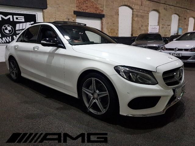 used Mercedes C220 BLUETEC AMG LINE PREMIUM PLUS in yeadon-leeds-for-sale