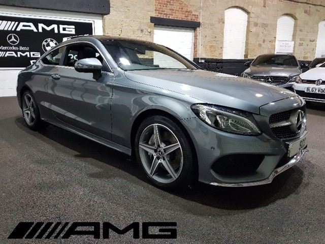 used Mercedes C250 C250  D AMG LINE PREMIUM PLUS in yeadon-leeds-for-sale