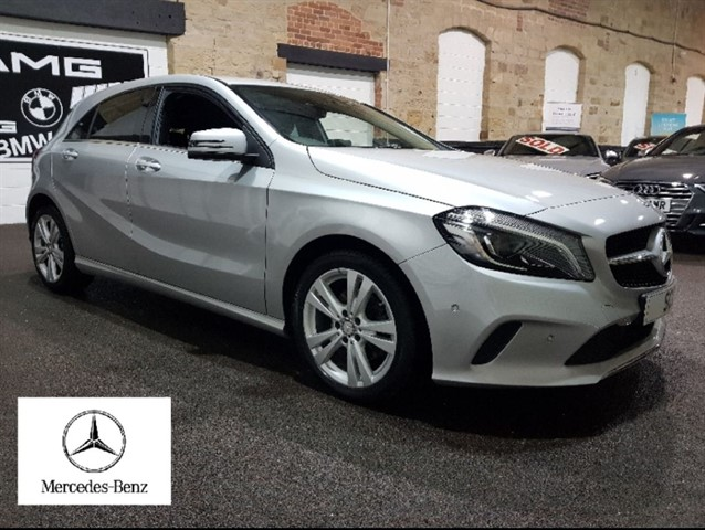 used Mercedes A200 A-CLASS A 200 D SPORT PREMIUM in yeadon-leeds-for-sale