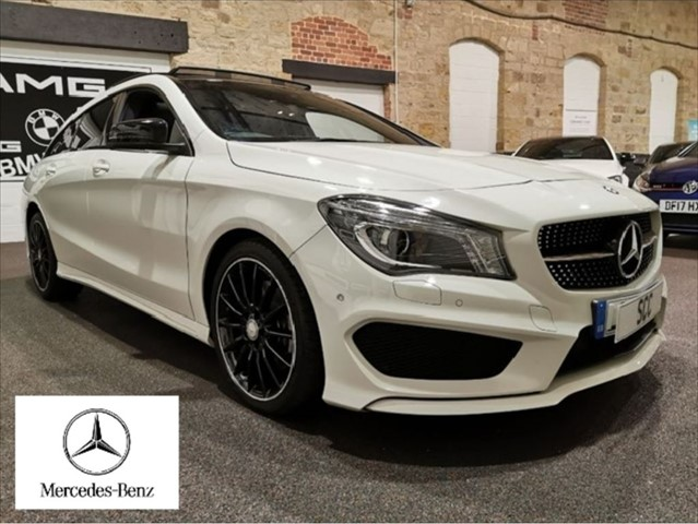 used Mercedes CLA 220 CLA CLA 220 D AMG LINE in yeadon-leeds-for-sale