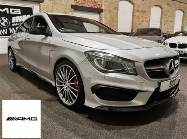 used Mercedes CLA45 AMG CLA AMG CLA 45 4MATIC in yeadon-leeds-for-sale