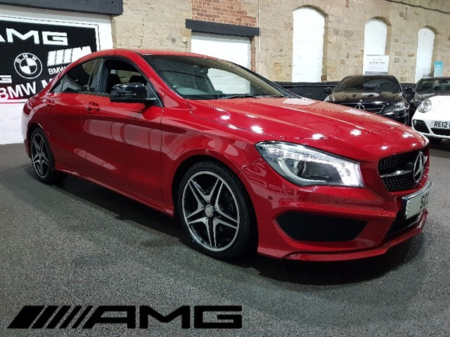 used Mercedes CLA180 CLA180 AMG SPORT in yeadon-leeds-for-sale