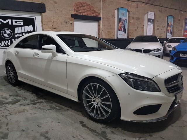 used Mercedes CLS CLS350 BLUETEC AMG LINE PREMIUM PLUS in yeadon-leeds-for-sale
