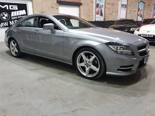 used Mercedes CLS CLS250 CDI BLUEEFFICIENCY AMG SPORT in yeadon-leeds-for-sale