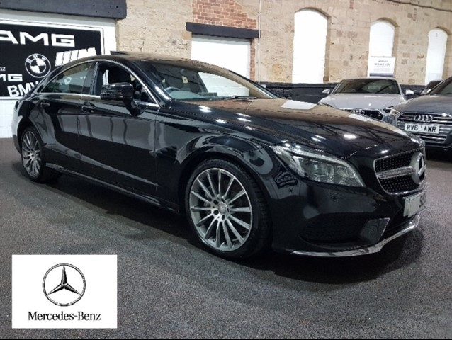 used Mercedes CLS CLS350 D AMG LINE PREMIUM in yeadon-leeds-for-sale
