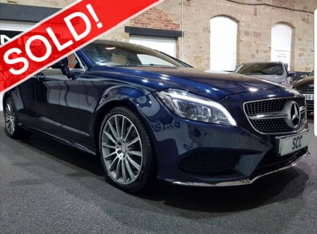 used Mercedes CLS CLS220 D AMG LINE PREMIUM in yeadon-leeds-for-sale
