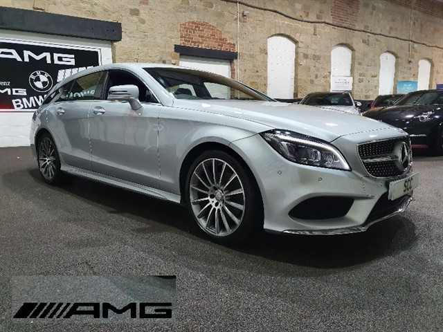 used Mercedes CLS220 CLS220 BLUETEC AMG LINE in yeadon-leeds-for-sale