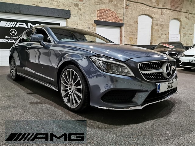 used Mercedes CLS220 CLS220 BLUETEC AMG LINE PREMIUM in yeadon-leeds-for-sale