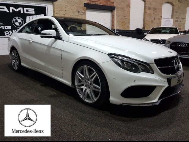 used Mercedes E220 E-CLASS E 220 D AMG LINE EDITION in yeadon-leeds-for-sale