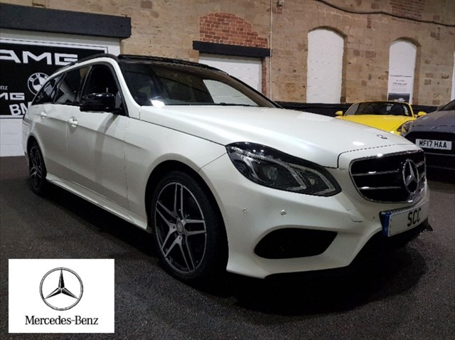 used Mercedes E220 BLUETEC AMG NIGHT EDITION PREMIUM in yeadon-leeds-for-sale