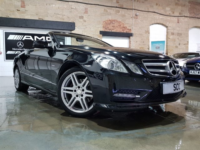 used Mercedes E250 CDI BLUEEFFICIENCY SPORT ED125 in yeadon-leeds-for-sale