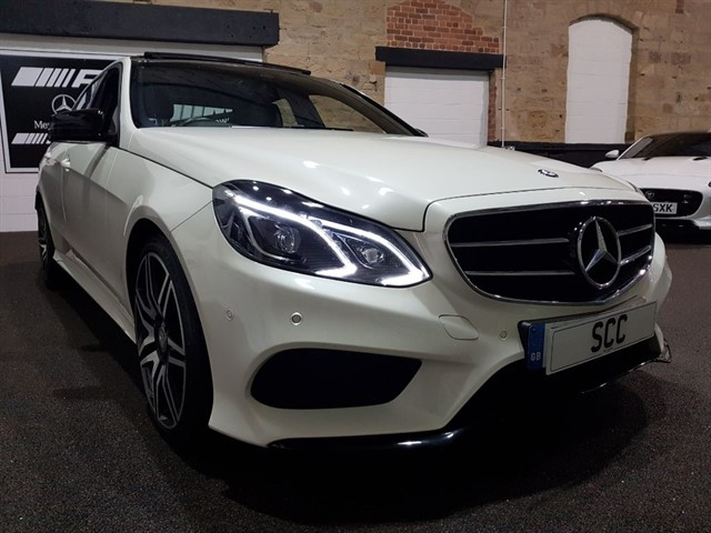 used Mercedes E350 BLUETEC AMG NIGHT EDITION PREMIUM in yeadon-leeds-for-sale