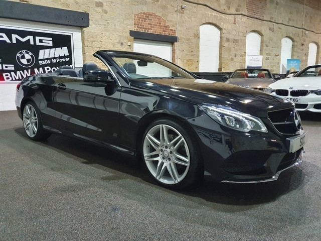 used Mercedes E220 E  D AMG LINE EDITION in yeadon-leeds-for-sale