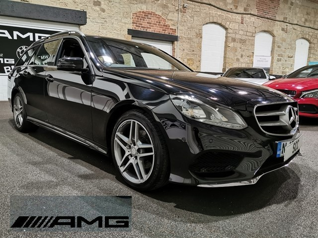 used Mercedes E220 CDI AMG SPORT in yeadon-leeds-for-sale