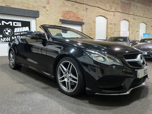 used Mercedes E350 BLUETEC AMG LINE in yeadon-leeds-for-sale