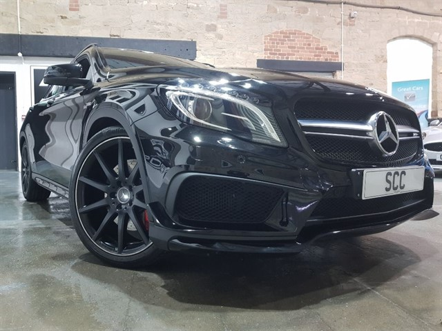 used Mercedes GLA45 AMG A-CLASS GLA45 AMG 4MATIC in yeadon-leeds-for-sale
