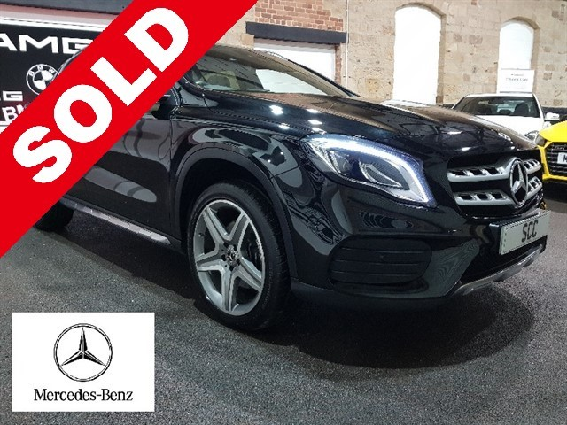 used Mercedes GLA220 A-CLASS GLA 220 D 4MATIC AMG LINE PREMIUM PLUS in yeadon-leeds-for-sale