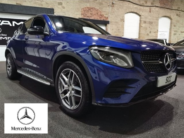 used Mercedes GLC250 C-CLASS GLC 250 D 4MATIC AMG LINE PREMIUM PLUS in yeadon-leeds-for-sale