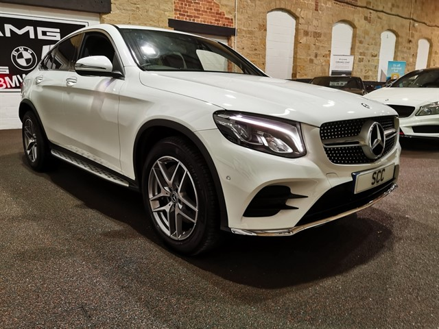 used Mercedes GLC250 GLC  D 4MATIC AMG LINE PREMIUM PLUS in yeadon-leeds-for-sale