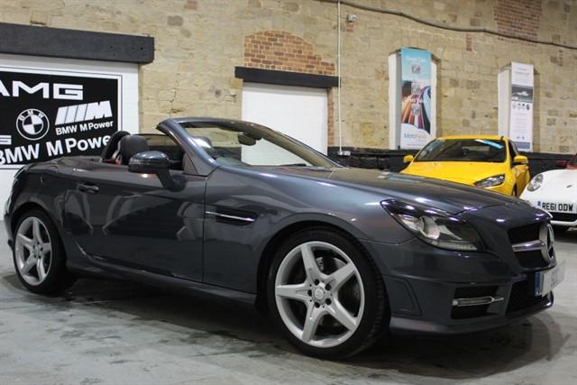 used Mercedes SLK SLK200 BLUEEFFICIENCY AMG SPORT ED125 in yeadon-leeds-for-sale
