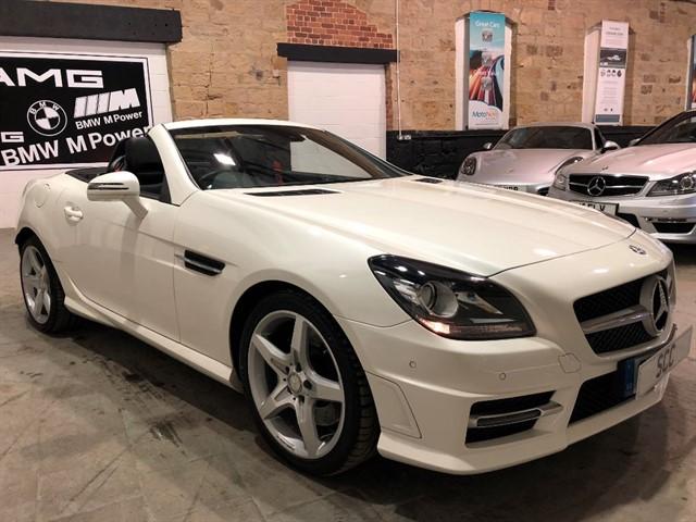 used Mercedes SLK SLK350 BLUEEFFICIENCY AMG SPORT in yeadon-leeds-for-sale