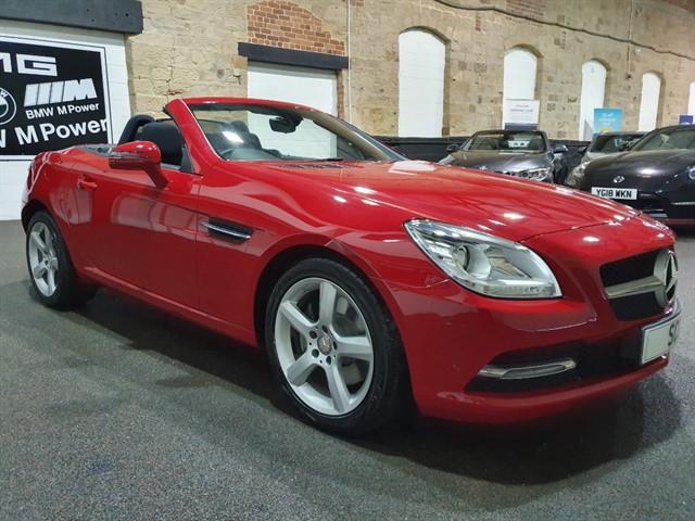 used Mercedes SLK250 SLK 250 D in yeadon-leeds-for-sale