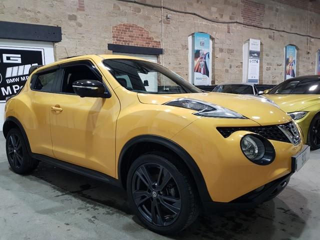used Nissan Juke TEKNA DCI in yeadon-leeds-for-sale