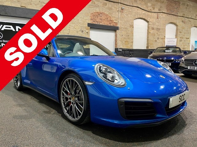 used Porsche 911 CARRERA 4S PDK in yeadon-leeds-for-sale