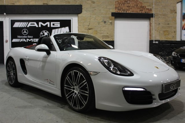 used Porsche Boxster 24V PDK+20inch 911 turbo design alloys in yeadon-leeds-for-sale