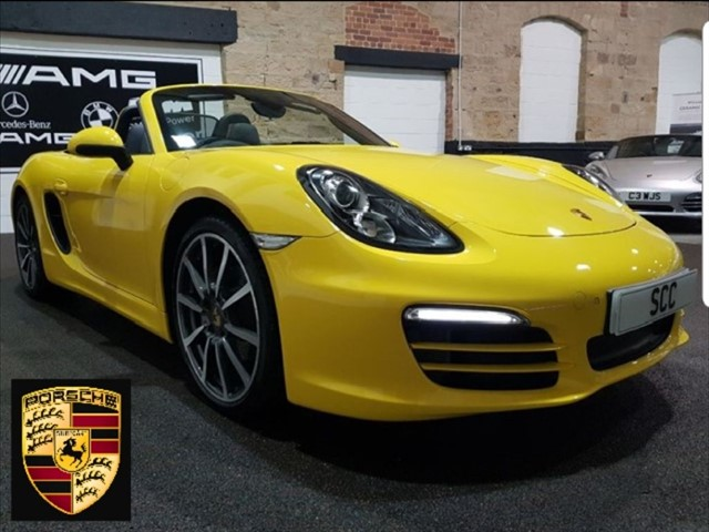 used Porsche Boxster 24V PDK in yeadon-leeds-for-sale