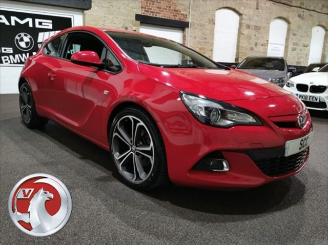 used Vauxhall Astra GTC LIMITED EDITION S/S in yeadon-leeds-for-sale