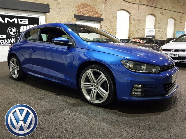 used VW Scirocco R LINE TDI BLUEMOTION TECHNOLOGY DSG in yeadon-leeds-for-sale