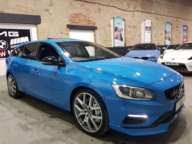 used Volvo V60 POLESTAR AWD in yeadon-leeds-for-sale
