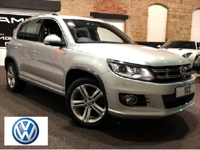 used VW Tiguan R LINE EDITION TDI BMT 4MOTION DSG in yeadon-leeds-for-sale