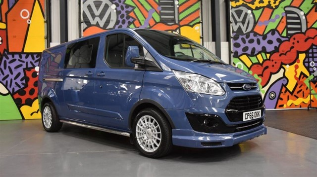 used Ford Transit Custom 2.0 TDCI 170PS LWB 290 LIMITED DOUBLE CAB IN VAN LSPORT PACK in sheffield