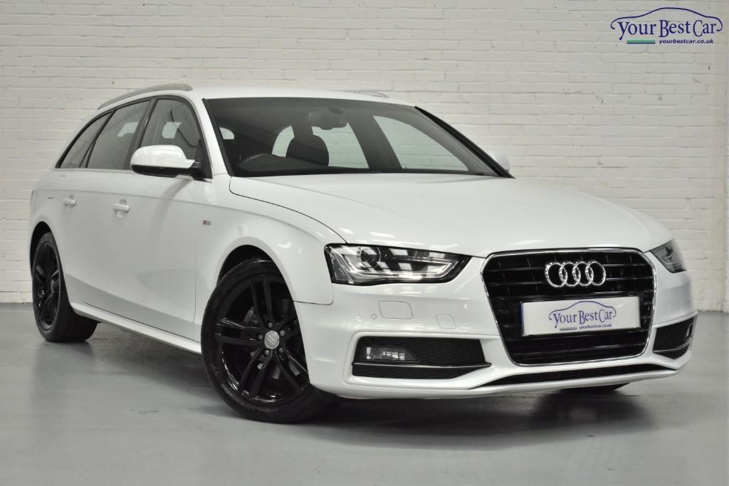 Used Glacier White Audi A4 For Sale Buckinghamshire