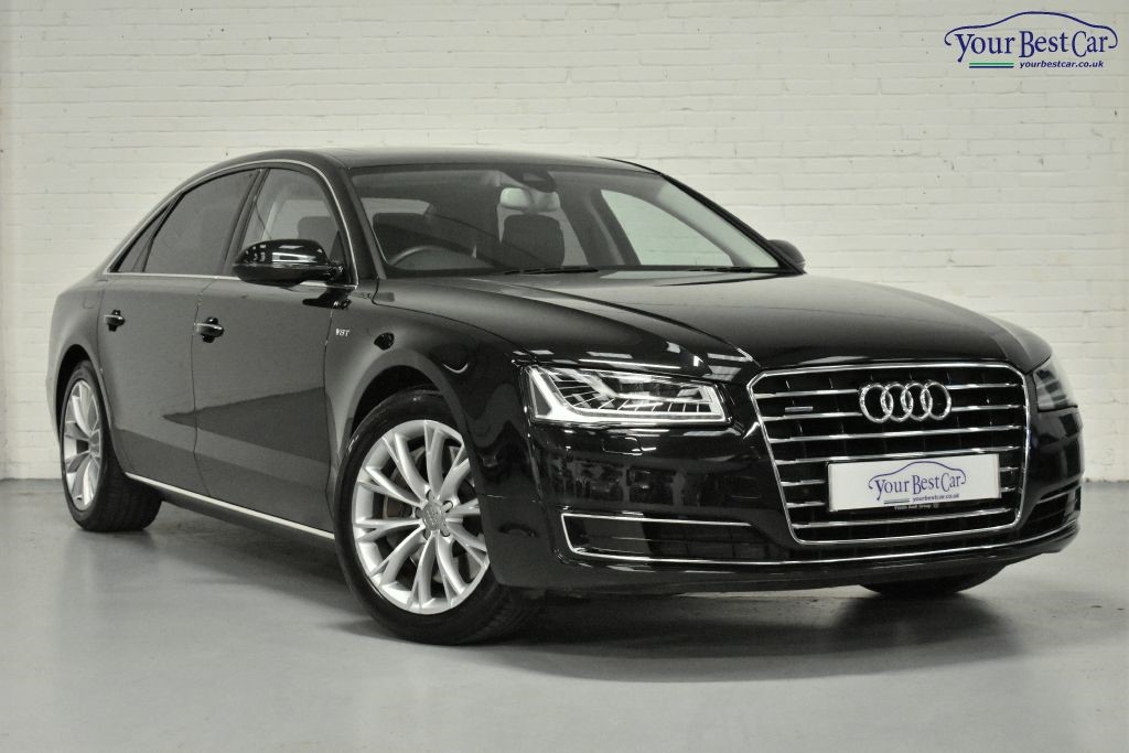 Used Black Audi A8 For Sale Buckinghamshire