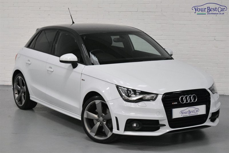 used Audi A1 SPORTBACK TDI S LINE BLACK EDITION (BLACK PACK+CONTRAST ROOF+BOSE) in cranbrook-common-kent