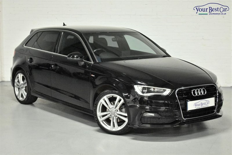 used Audi A3 TDI S LINE NAV (TECHNOLOGY PACK) in cranbrook-common-kent