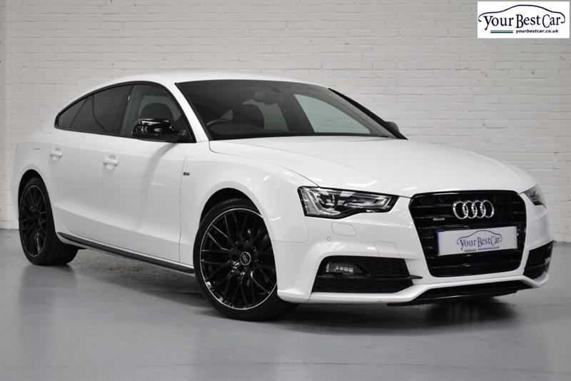 "used Audi A5 SPORTBACK TDI S LINE BLACK EDITION PLUS (B&O SOUND+SAT NAV+BI-XENONS+19"") in cranbrook-common-kent"