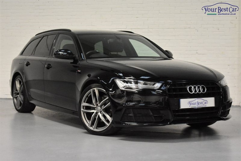 used Audi A6 Avant TDI ULTRA S LINE BLACK EDITION in cranbrook-common-kent