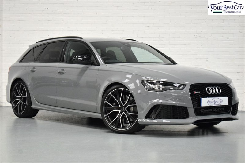 used Audi RS6 Avant Performance RS6 PLUS AVANT TFSI QUATTRO (PERFORMANCE PACK+BLACK STYLING PACK+FULL LTHR) in cranbrook-common-kent