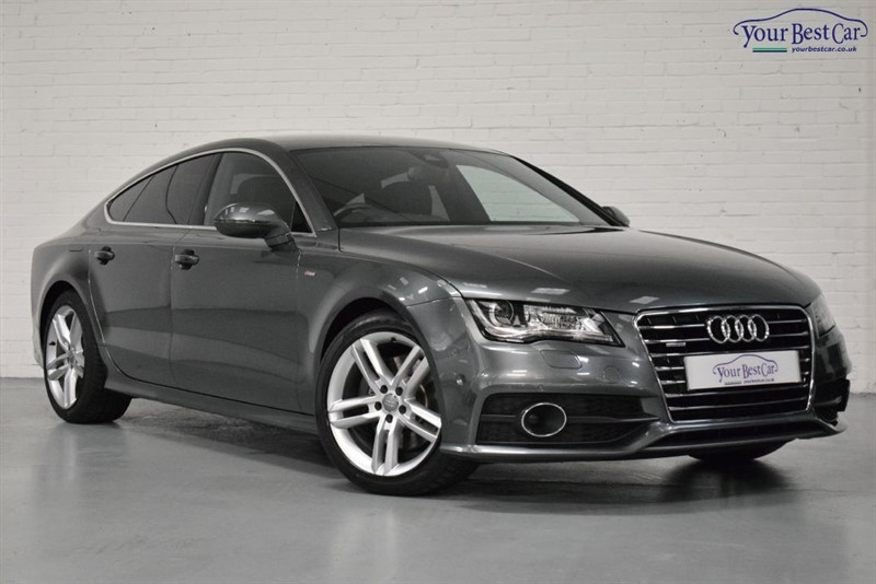 used Audi A7 TDI QUATTRO S LINE (ADVANCED TECH PACK+HEAD UP DISPLAY+PEAR PAINT) in cranbrook-common-kent