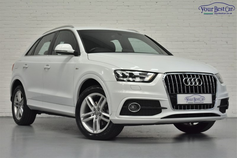 used Audi Q3 TDI S LINE in cranbrook-common-kent