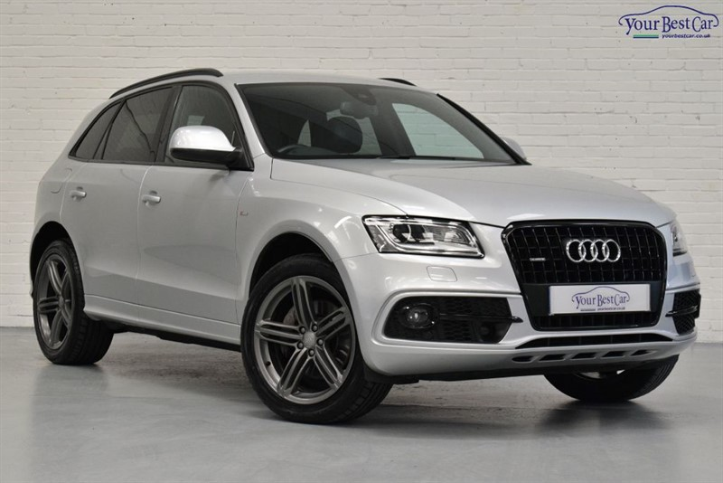 used Audi Q5 TDI QUATTRO S LINE PLUS (1 OWNER+£6K OPTIONS+ADAPT CRUISE) in cranbrook-common-kent