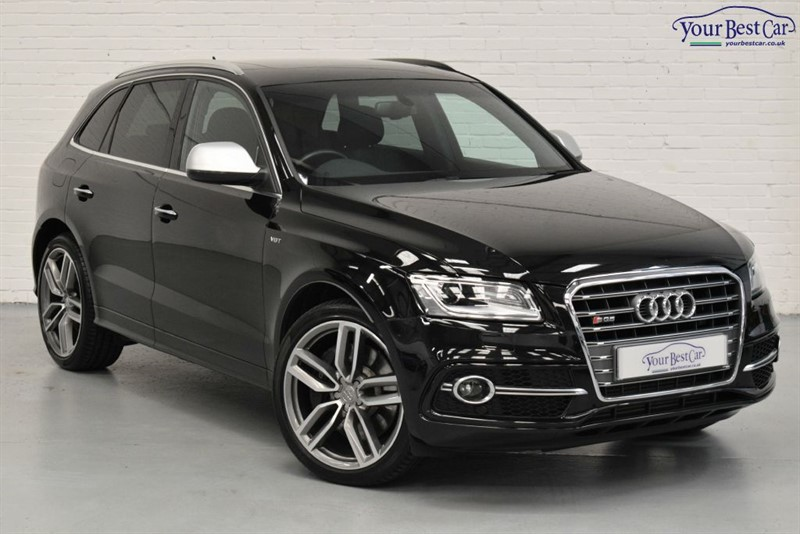 used Audi Q5 SQ5 TDI QUATTRO (B&O SOUND+QUILTED SEATS+PANORMAIC SUNROOF) in cranbrook-common-kent