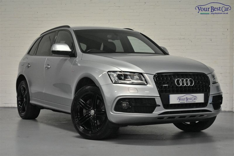 used Audi Q5 TDI QUATTRO S LINE PLUS in cranbrook-common-kent