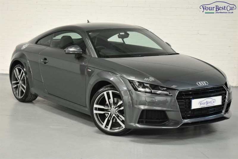 used Audi TT TFSI S LINE in cranbrook-common-kent
