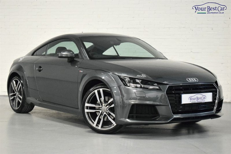 """used Audi TT TFSI S LINE (TECHNOLOGY PACK+19"""" ALLOYS+AUDI CONNECT) in cranbrook-common-kent"""