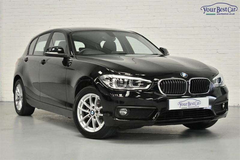 used BMW 116d SE BUSINESS (SAT NAV+BLUETOOTH+PARKING SENSORS) in cranbrook-common-kent
